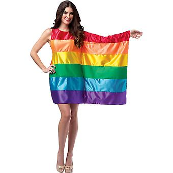 USA Flag Rainbow Adult Costume