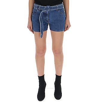 Prada-Blue-Jeans-Shorts