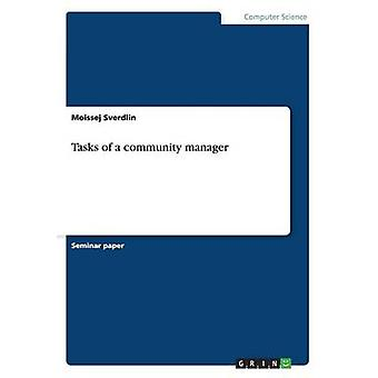 Tasks of a community manager by Sverdlin & Moissej