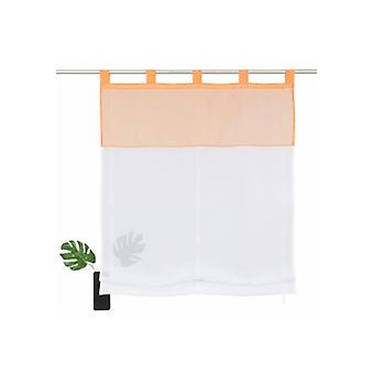Home affair collection curtain elegant Roman shade with white, Orange eyes suspension