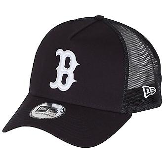 New Era NBA ätherischen Trucker Snapback Cap ~ Boston Rot Sox