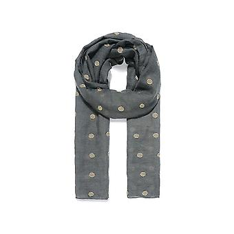 Intrigue Womens/Ladies Dot Embroidered Scarf