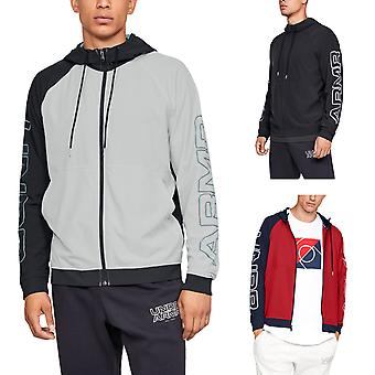 Under Armour Mens UA Baseline Woven Light Training Warm Hoody