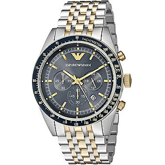 Emporio Armani Ar8030 multicolor orologio da uomo in acciaio inossidabile