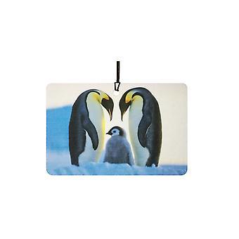 Emperor Penguins In Love Car Air Freshener