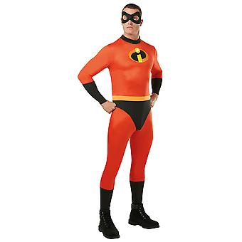Adult Mr Incredible Costume- Incredibles