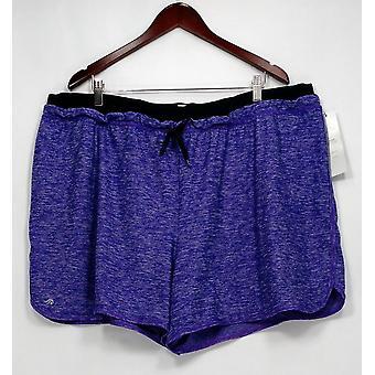 Ideologie plus shorts Heathered performance shorts roze