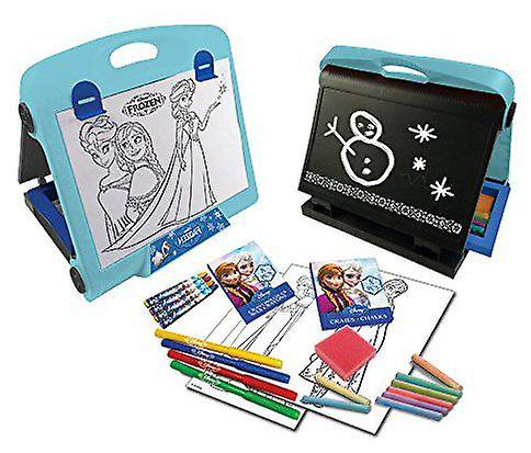 Play Doh Double Sided Art Easel with Accessory Set