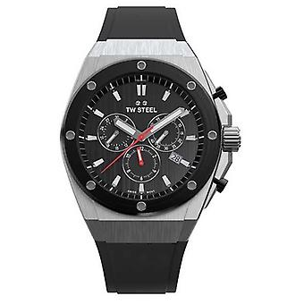 TW Steel | CEO Tech | Limited Edition | Chronograph | Black Rubber | CE4042 Watch