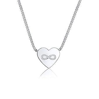 Elli Silber Anhänger Halskette 0111420317_45