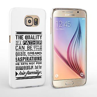 Caseflex Father Family Quote Samsung Galaxy S6 Case