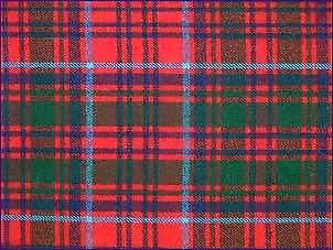 Grant Red, Modern - Pure Wool Tartan