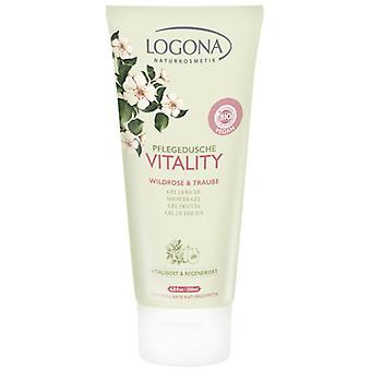 Logona Vitality Shower Gel Rosa & Uva