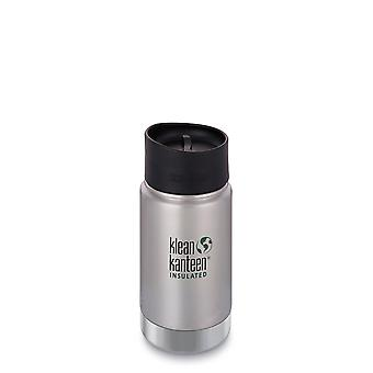 Klean Kanteen Wide Vacuum Insulated Bottle 355ml (Brushed Stainless)