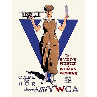 United War Work Campaign Poster Print by Treidler