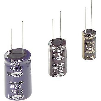 Electrolytic capacitor Radial lead 5 mm 1000 µF 10 Vdc 20 % (Ø x L) 10 mm x 16 mm Samwha WB1A108M10016 1 pc(s)