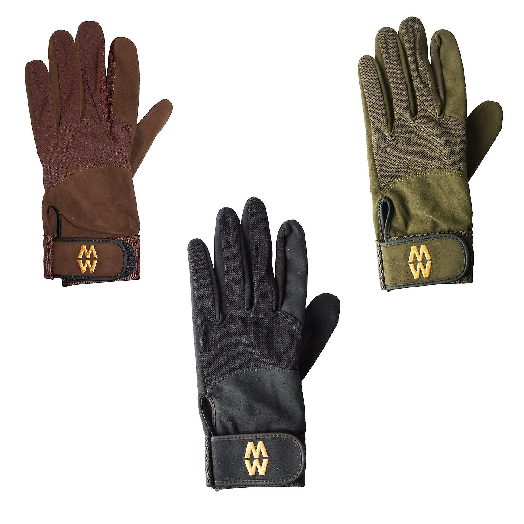 Macwet Micromesh Gloves Long cuff - grip in all conditions golf archery shooting