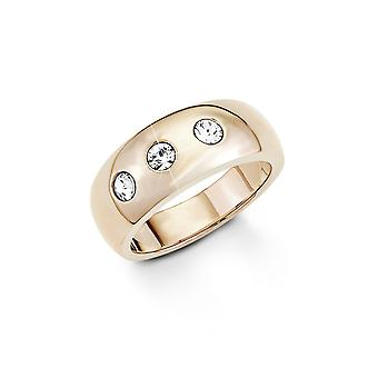 s.Oliver Jewel Damen Ring Edelstahl IP Rose SO1270