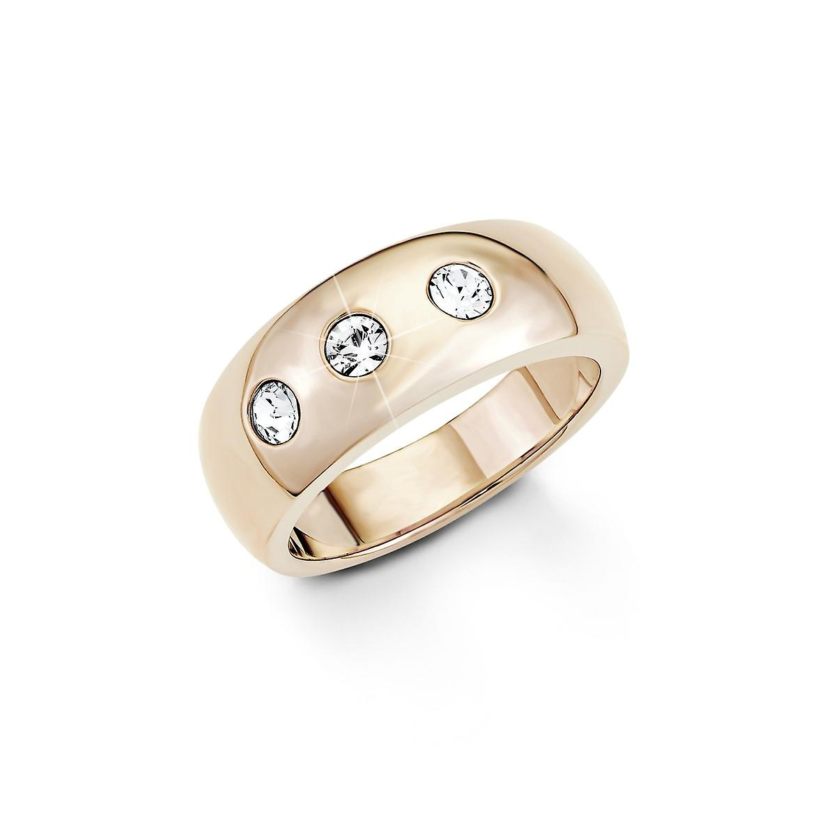 s.Oliver jewel ladies ring stainless steel IP Rose SO1270