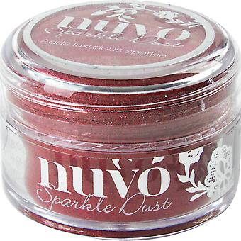Nuvo Sparkle Dust .5oz-Hollywood Red NSD-550
