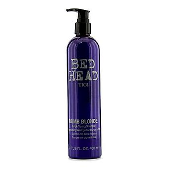 Tigi Bed Head Dumb Blonde Purple Toning Shampoo 400ml/13.5oz