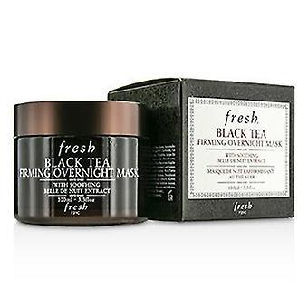 Tè nero fresco Rassodante maschera durante la notte - 100ml / 3.3 oz