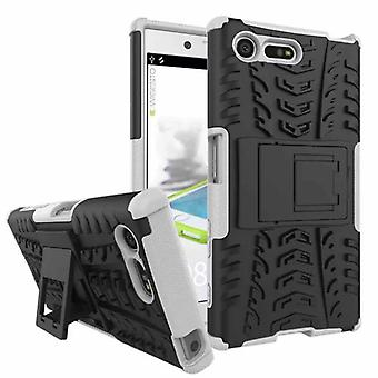 Hybrid case 2 piece SWL robot white for Sony Xperia X compact F5321
