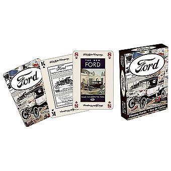 Ford Heritage set of 52 playing cards + jokers (nm)