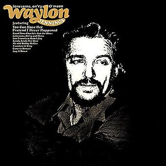 Waylon Jennings - Lonesome on'Ry & medelvärde [CD] USA import