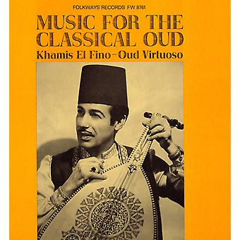 Khamis El Fino Ali - Music for the Classical Oud [CD] USA import