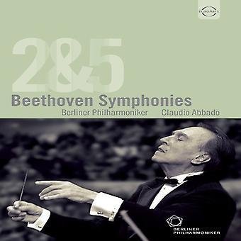 Larsen Beethoven - Sym 2/5 [DVD] USA importerer