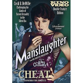 Manslaughter/Cheat [DVD] USA import