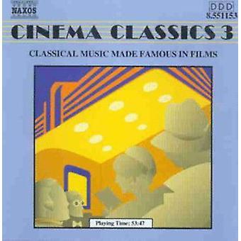 Biograf klassikere - biograf klassikere, Vol. 3 [CD] USA importerer