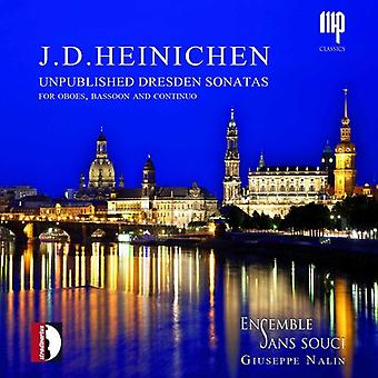 Heinichen / Ensemble Sans Souci - Unpublished Dresden Sonatas [CD] USA import