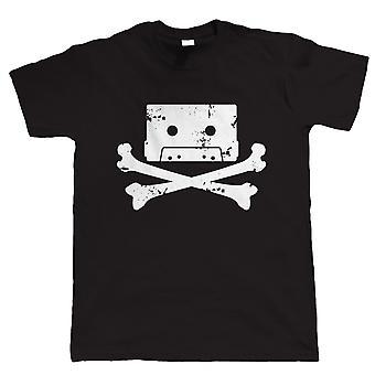Kassette Piraten, Mens Funny T-Shirt