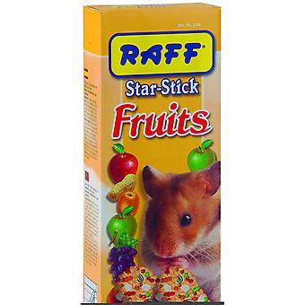Raff Stick Fruits Hamster (Roedores , Snacks)