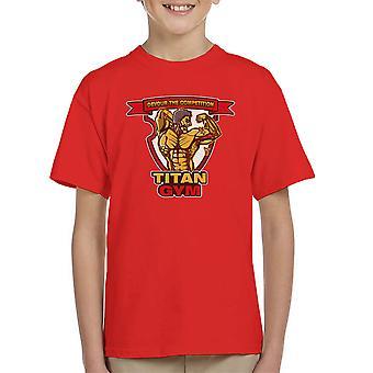 Titan fitness angreb på Titan børne T-Shirt