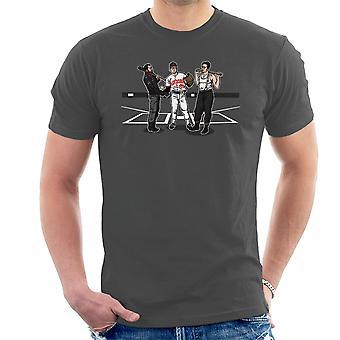 Pre Game Team Talk Walking Dead Inglorious Bastards Men's T-Shirt