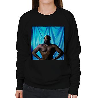 Isaac Hayes Topless Women's Sweatshirt