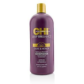 Chi dyp glans olivenolje og Monoi optimal fuktighet balsam - 946ml / 32oz