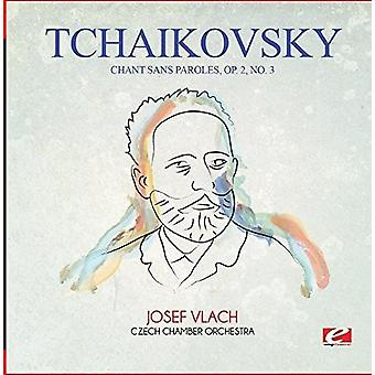 Tjajkovskij - Chant Sans Paroles Op. 2 nr. 3 [CD] USA import