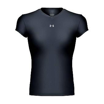 UNDER ARMOUR womens heatgear frequency tee [black]