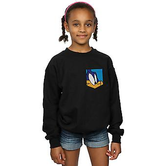 Looney Tunes meisjes Roadrunner gezicht Faux Pocket Sweatshirt