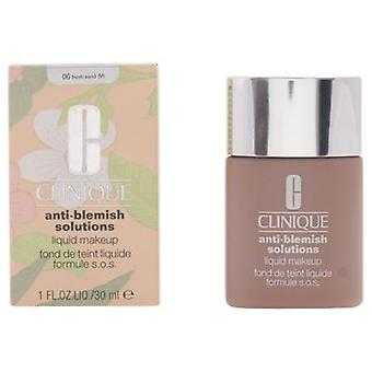 Clinique Anti-Blemish Liquid Found-06 Fresh Sand 30 Ml (Beauty , Make-up , Face)