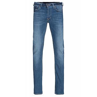 Lee Powell Low Slim Hose Herren Jeans Blau 5-Pocket-Style