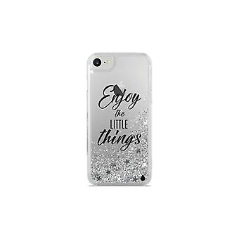 Puro iPhone 8/7/6/6S, Aqua Cover, silver