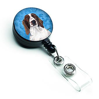 Springer Spaniel Retractable Badge Reel or ID Holder with Clip