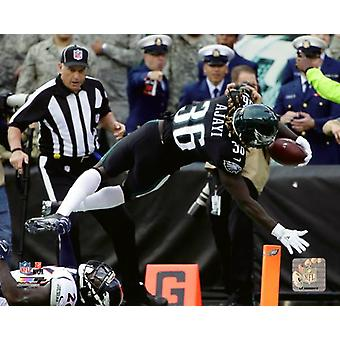 Jay Ajayi 2017 Action Photo Print