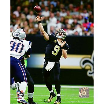 Drew Brees 2017 Action Photo Print