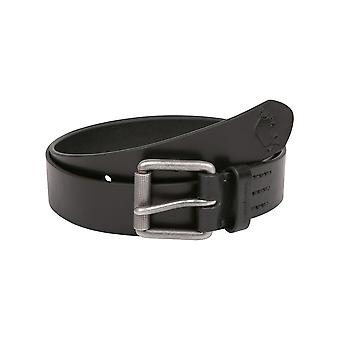 Leather Belt- Black